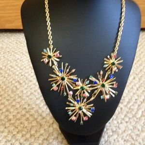 TALBOTS - Snowflake Statement Necklace - NWOT
